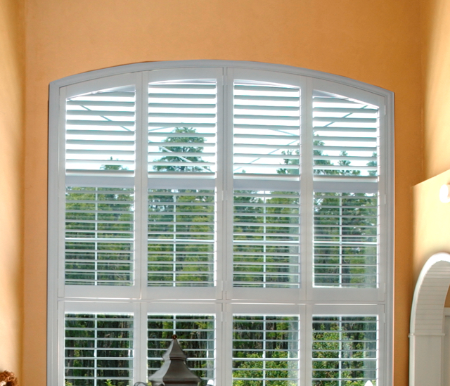 Arched Window Shutters In St. George, UT
