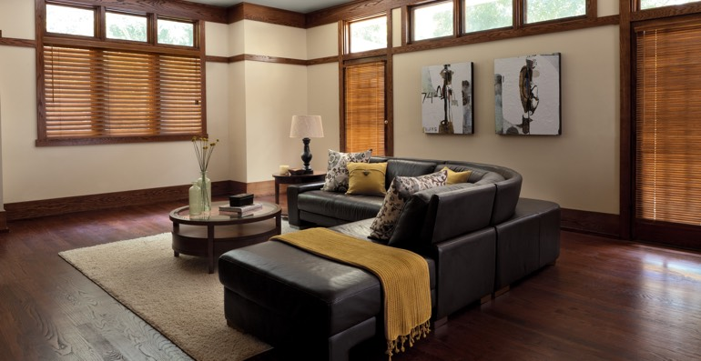 St. George hardwood floor and blinds