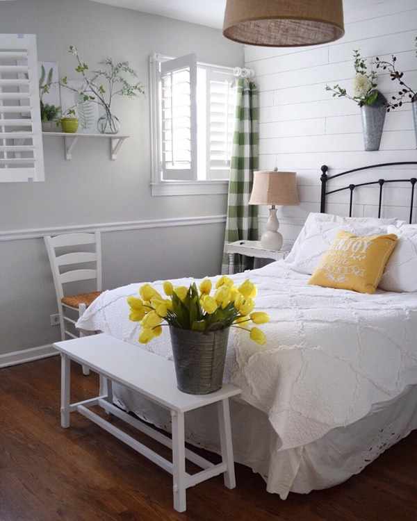 St. George cottage bedroom shutters