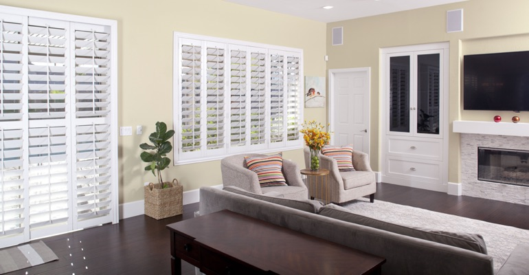 Polywood Plantation Shutters For St. George, UT Homes