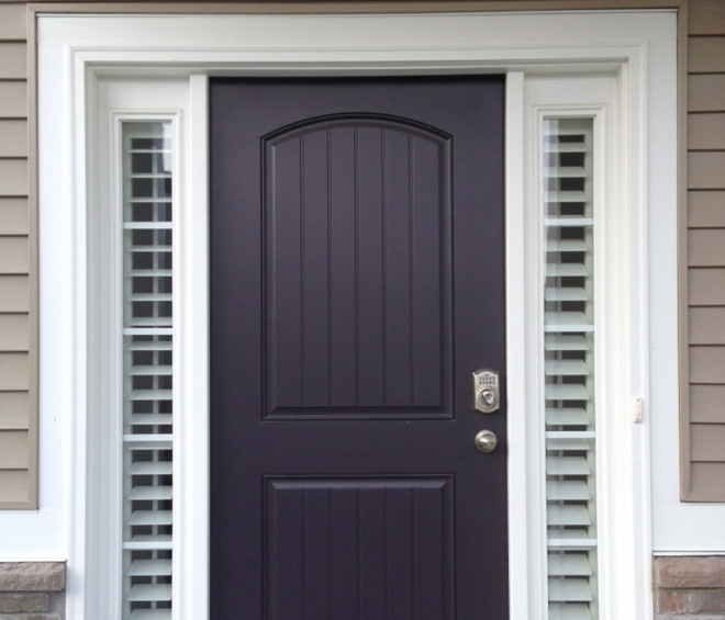 Entry Door Sidelight Shutters